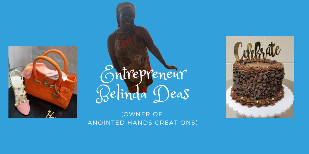 Entrepreneur Belinda Deas, owner of Anointed Hands Creations