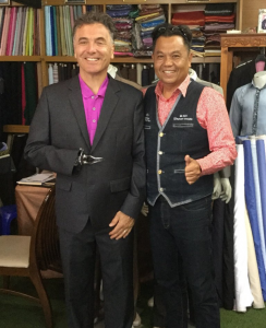 Mr. LoTempio can vouch for the quality of the tailoring!